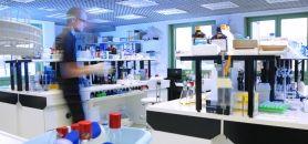 Laboratoire de biologie de l'université du Luxembourg //©University of Luxembourg - Luc Deflorenne