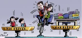 La moitié des personnels estiment que leur travail ne leur permet pas de garder un équilibre satisfaisant entre la vie professionnelle et la vie personnelle, selon le baromètre EducPros 2015. //©Hervé Pinel