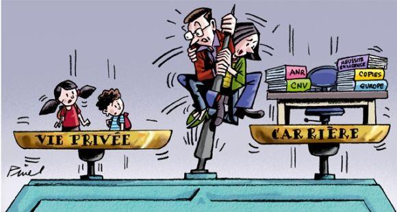 Baromètre 2015 - Difficile compromis vie pro - vie perso