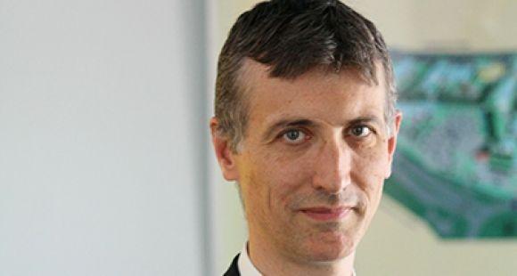 Éric Boutin, président de l'université de Toulon.