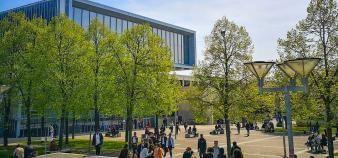 Le campus de l'université Sorbonne Paris Nord, connue auparavant sous le nom de Paris 13. //©Sorbonne-Paris Nord