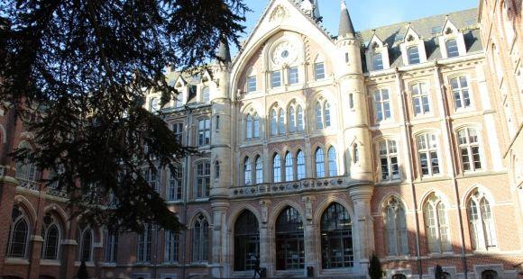L'hôtel académique de l'université catholique de Lille