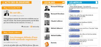 La plateforme de blogs EducPros //©EP
