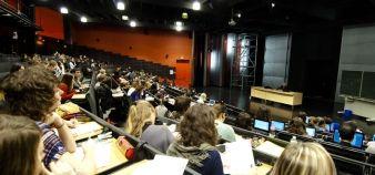 Les effectifs du collégium sciences humaines et sociales de l'université de Lorraine ont augmenté de 11% par rapport à 2014. //©Alex Herail