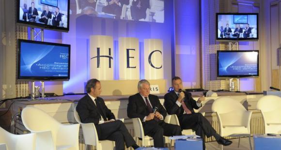La fondation HEC lors du lancement de la campagne de levée de fonds en 2008 © HEC