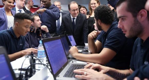 François Hollande web@academie octobre 2016