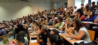 Cinq académies ont mis en place une formation en alternance en première année de master MEEF. //©©Lydie LECARPENTIER/REA