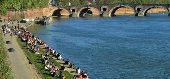 Toulouse, 1ère métropole dans le palmarès 2014 des villes où il fait bon étudier //©Lydie Lecarpentier / R.E.A