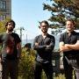 Trois ingénieurs français, Rudy Rigot (à gauche), Sylvain Kalache (au centre) et Julien Barbier (à droite), ont créé la Holberton School à San Francisco //©JG