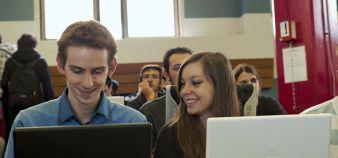 Les secteurs de l'informatique, ici à Epita, ou de la mécanique, attirent généralement moins les candidates que ceux de la chimie et des sciences du vivant. //©EPITA
