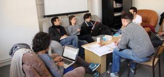 Depuis 2013, le Centre Michel Serres accueille chaque semestre une quarantaine d'étudiants, venus mener un projet d'innovation. //©Céline Authemayou