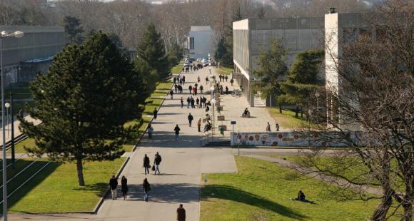 Le campus de Lyon 1, l'un des membres fondateurs de l'IDEX Lyon. //©Université Claude Bernard - Lyon 1