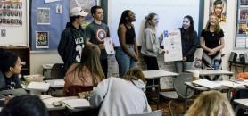 Aux États-Unis, 18.000 lycées utilisent le service proposé par la start-up Raise.me. //©GREG KAHN/The New York Times-REDUX-REA