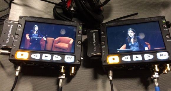Séance de tournage test pour un prochain MOOC à HarvardX