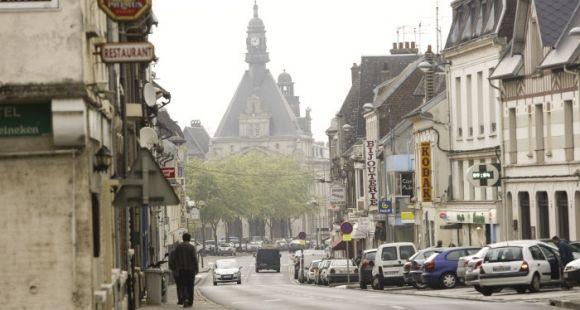 Centre-ville de Péronne, Picardie