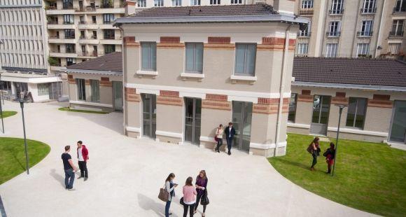 L'ESCE (École supérieure du commerce extérieur).