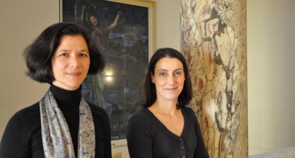 Émilienne Baneth-Nouailhetas et Camille Peretz, attachées pour la coopération universitaire à l'ambassade de France aux États-Unis // © J. Gourdon