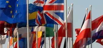 Drapeaux de l'Union européenne © Parlement européen //©Parlement européen