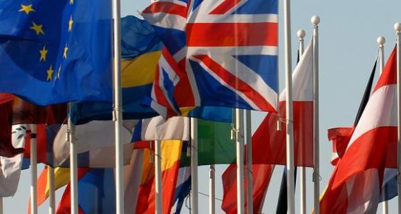 Drapeaux de l'Union européenne © Parlement européen