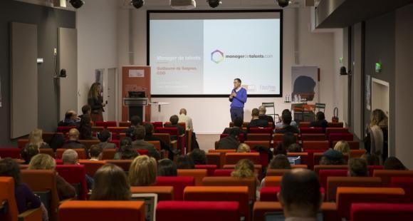 Intervention de Guillaume de Saignes, directeur de la transformation, lors du EdJobTech Day organisé par l'EM Lyon, le 29 novembre 2018.