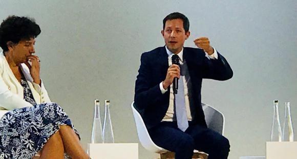 Lors de la Rencontre des entrepreneurs de France du Medef, François-Xavier Bellamy s'en est pris à la réforme du lycée portée par Jean-Michel Blanquer et Frédérique Vidal a défendu sa loi ORE