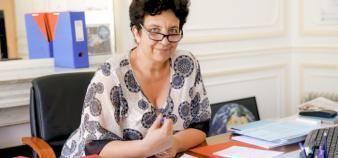 Pour Frédérique Vidal, le contrat de réussite étudiant doit notamment permettre de lutter contre le tirage au sort. //©Nicolas TAVERNIER/MESRI/REA