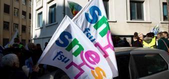 Opposé à la réforme du bac, le Snes-FSU dénonce le manque de préparation aux E3C. (Illustration) //©REA/Ian HANNING
