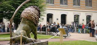 Après avoir été classée en neuvième position en 2015, puis en quatrième en 2016, Lyon est première du palmarès des villes étudiantes en 2017. //©Lyon 3