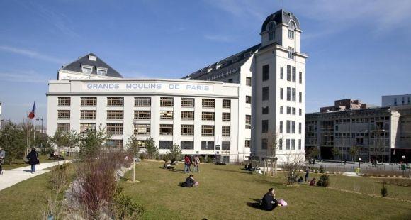 Université Paris Diderot - Site des grands moulins © Hervé de Brus - service communication - université Paris Diderot