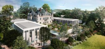 Le nouveau campus de l'institut Paul Bocuse à Ecully, dans la banlieue lyonnaise, sera dédié aux formations en management de l'hôtellerie et de la restauration. //©Institut Paul Bocuse