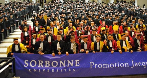 Cérémonie docteurs-Sorbonne Université
