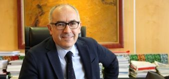 Manuel Tunon de Lara préside l'université de Bordeaux depuis janvier 2015. //©Camille Stromboni