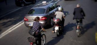 Compte tenu du nombre d'étudiants résidant à moins de 30 minutes à vélo de leur université, ce mode de transport devrait être valorisé. //©Marta Nascimento / R.E.A