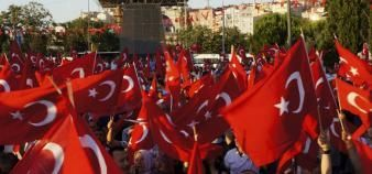 Plus de 1.500 doyens ont été démisionnés en Turquie mercredi 19 juillet 2016. Une purge qui ne laisse pas les universitaires français indifférents. //©Cihan/XINHUA-REA