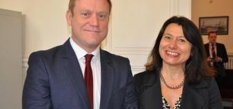 Sciences po a choisi deux personnalités pour diriger son école de management : Benoît Thieulin et Marie-Laure Djelic. //©Thomas Arrivé-Sciences po