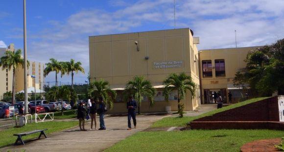 L'université des Antilles et de la Guyane - novembre 2014