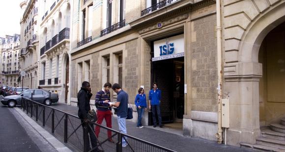 l'ISG à Paris