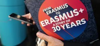 Le budget 2020 d'Erasmus+ continue d'être augmenté chaque année. //©©Fred MARVAUX/REA
