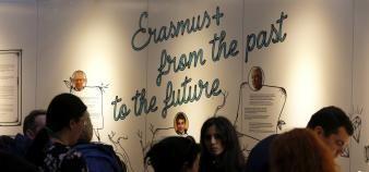 Neuf milliards d'euros supplémentaires ont été accordés à Erasmus+ pour la période 2021-2027. //©Fred MARVAUX/REA