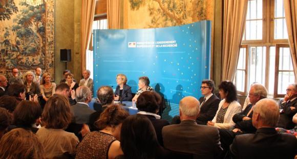 Lancement des Assises ESR - juillet 2012 //©C.Stromboni