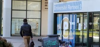 A Rennes 2, comme dans tous les établissements du supérieur, l'objectif est d'assurer les fonctions vitales de l'université. //©Guillaume Le Néouanic