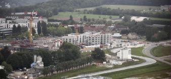 Malgré les tensions politiques, l'Université Paris Saclay poursuit sa construction. //©Laurent Grandguillot/REA