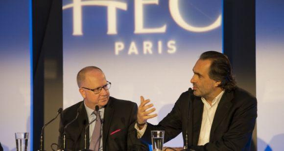 Peter Todd et Emmanuel Chain HEC