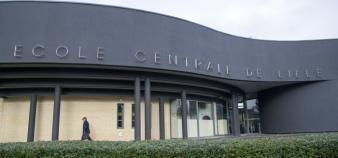 Centrale Lille s'est associée fin décembre 2017 à l'Ensait et à Chimie Lille. //©Jean Michel ANDRE/REA