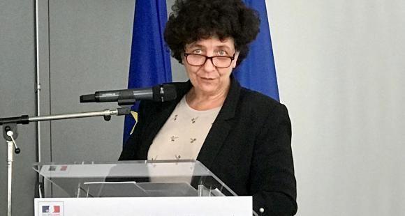 """Frédérique Vidal à Lyon le 2 mai présentant son plan en faveur de l'entrepreneuriat étudiant : """"L'heure est à la mobilisation générale ! Notre ambition c'est que la prochaine génération d'étudiants ait acquis l'esprit entrepreneur"""""""