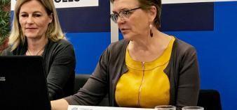 Chantal Dardelet, animatrice du groupe de travail Ouverture sociale à la Conférence des grandes écoles. //©Etienne Gless