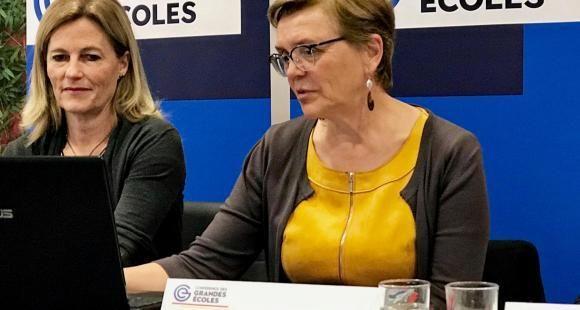 Chantal Dardelet, animatrice du groupe de travail Ouverture sociale à la Conférence des grandes écoles.