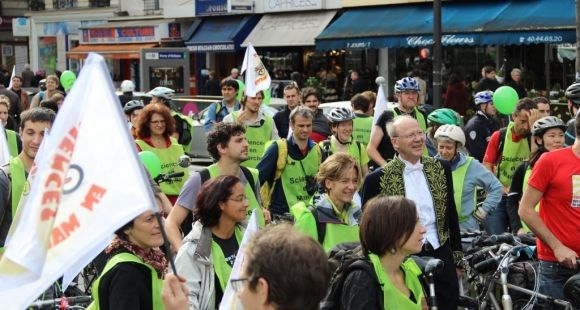 Manifestation Sciences en marche - chercheurs - académicien Jean Rossier - Paris 17 oct2014 ©C.Stromboni