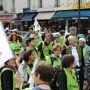 Manifestation Sciences en marche - chercheurs - académicien Jean Rossier - Paris 17 oct2014 ©C.Stromboni //©Camille Stromboni