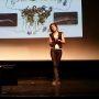 Charlotte Morin, doctorante à l'université de Strasbourg, lauréate de la finale nationale 2014 de